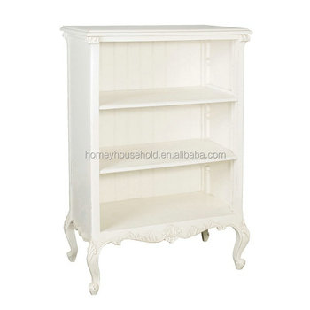 Chateau Living Room Furniture Small Open Tree Bookshelf Wooden White French Bookcase Buy Bookcase Product On Alibaba Com