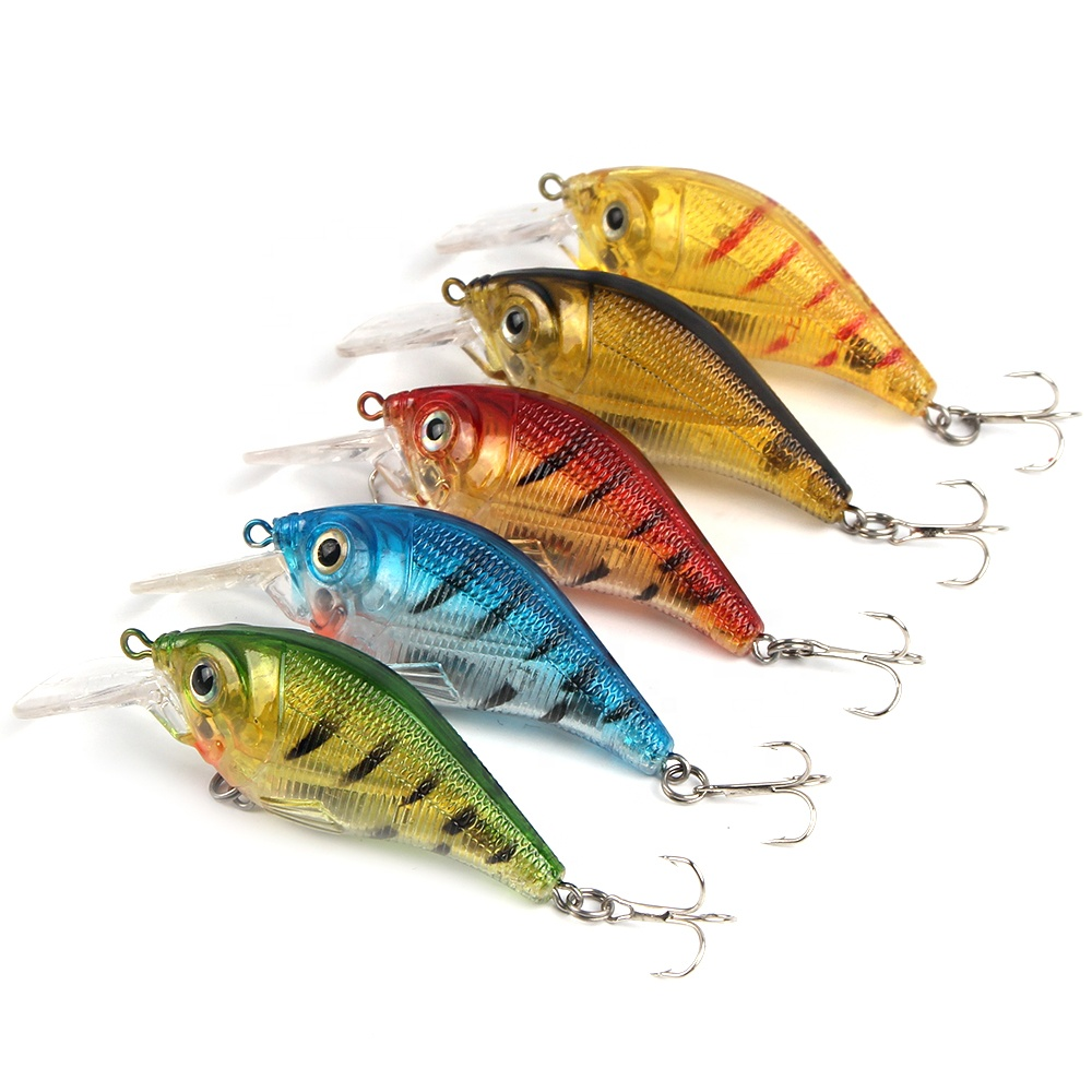 12g sea bass fishing lure crank bait tackle artificial hard fishing lures crankbait, As pictured;one