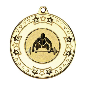 custom price cheap power lifting award weightlifting championship medals