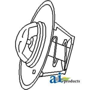 A&I - Thermostat (180°) (Diesel). PART NO: A-A57641