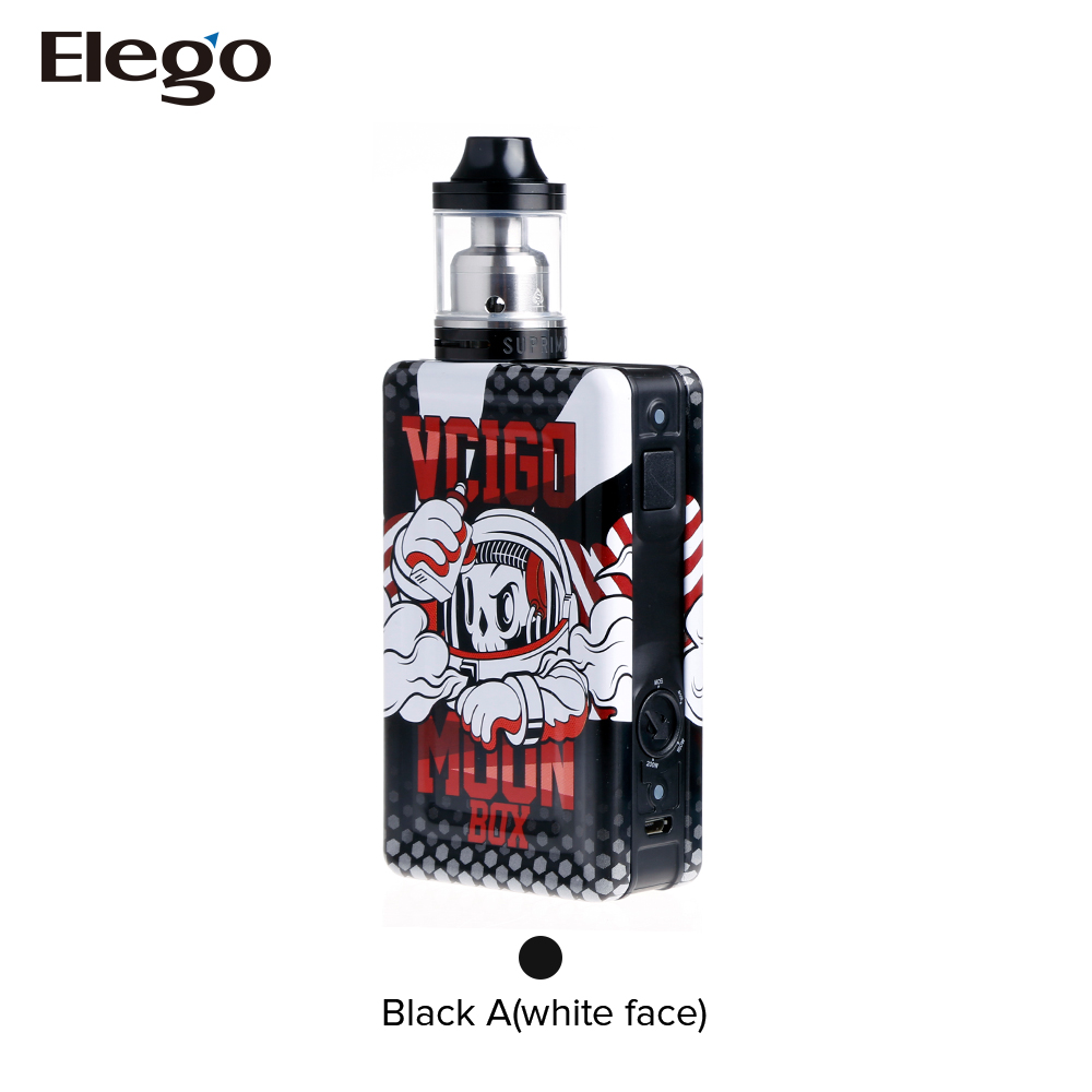 Unique round knob Vcigo Moon Box Kit from Elego