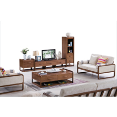 Wood board stoving varnish tv stand furniture living room coffee table set