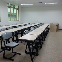 Classroom Furniture Student Single Desk And Table Chair, Study Table And Chair Set School Furniture