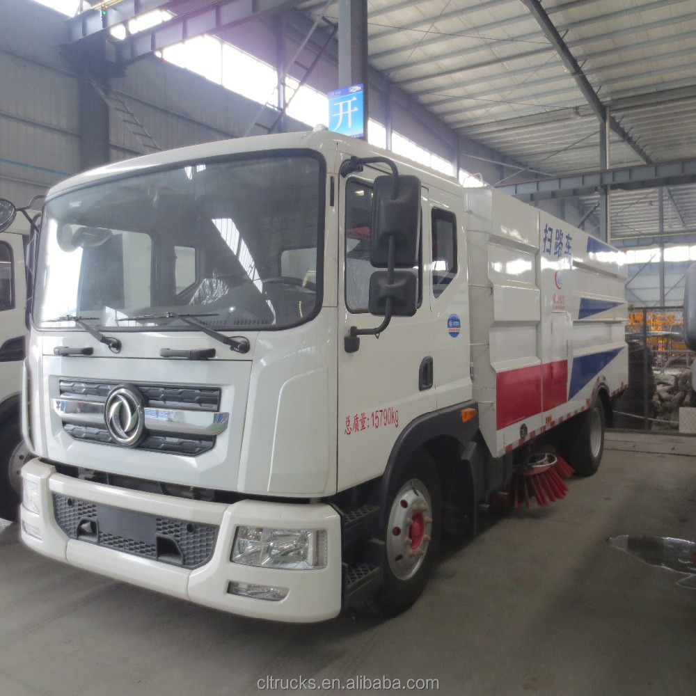 High quality low price of dongfeng 180HP 4 x2 highway vacuum sweep road truck