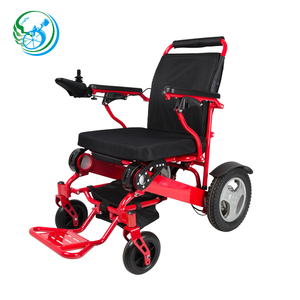 Portable Folding electric Power Wheelchair with 12 inch big wheels