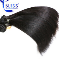 "Bliss Peruvian Hair Straight 8""-30"" Top Quality Single Donor Cuticles Aligned 8A Peruvian Virgin Remy Hair"