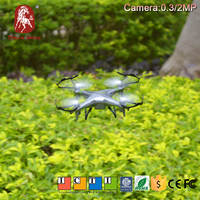 Children toys 3 speed mode 2.4G 4ch hd camera bebop drone, rc airplane drone mini for sale