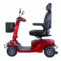 HOT SALES COST-EFFECTIVE FOLDING 4 WHEEL MOBILITY SCOOTER FOR ELDERLY