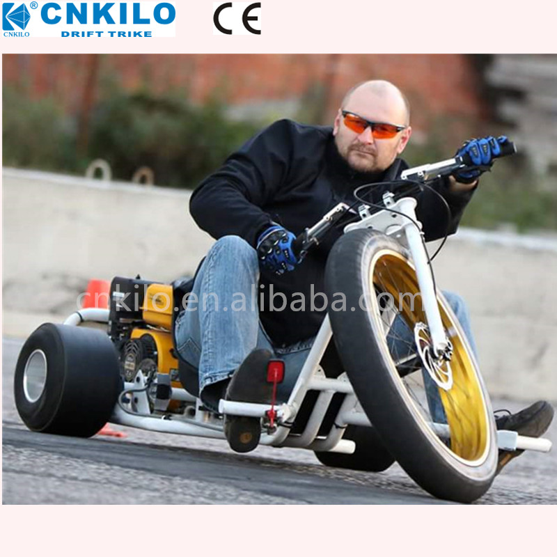 China 196-225cc Trike Drift motorizzato / gas, per slider adulti in discesa, pedali go kart.