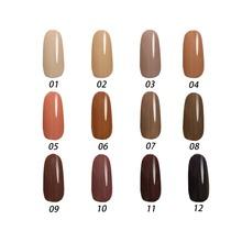 Free shipping Toffee Series 6 pcs MIJIQUAN Gel Nail Polish 15ml 12 colors for choice