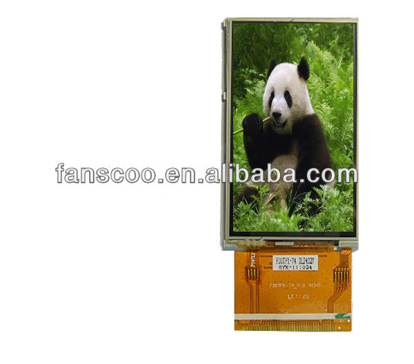 2.8 network ad player weather clock lcd module display screen lcm panel for energy meter and psp