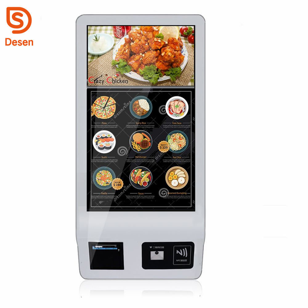32 inch Intelligent touch screen self service bill <strong>payment</strong> kiosks ordering self service <strong>payment</strong> kiosk machine