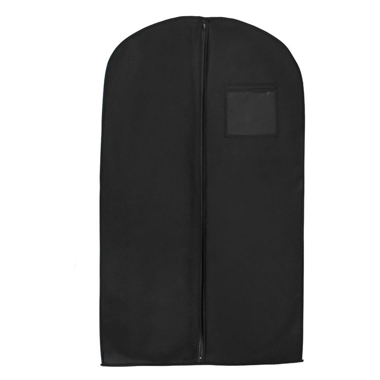 Garment Travel Bag Dust proof Dress Cover Bag with Zipper and Pocket Garment Suit Bag