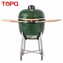 TOPQ <span class=keywords><strong>Outdoor</strong></span> Küche Kamado Bbq Holz Pizzaofen