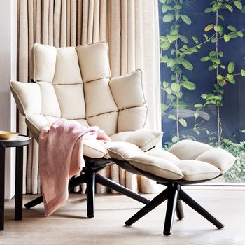 Comfy Husk B&b Italia Armless Husk Outdoor Chair Replica - Buy ...