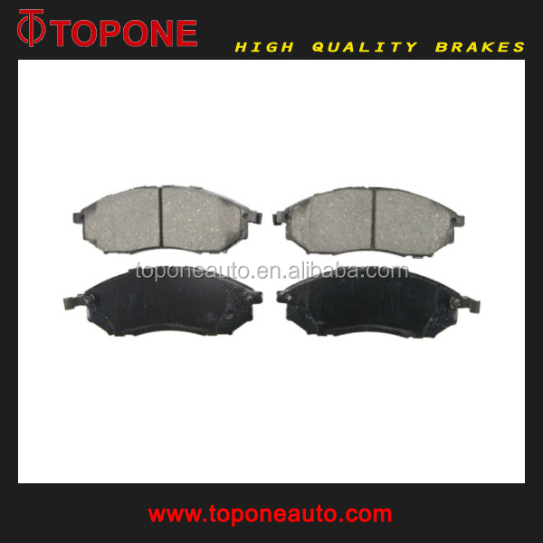 High Performance Brake Pad Car Auto Brake Pads For NISSAN D1231M D888 GDB3392 A605WK
