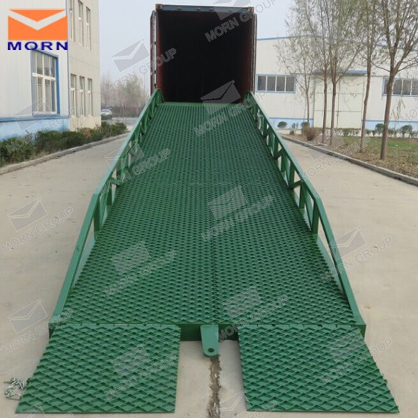 Movable container loading equipment/unload dock ramp equipment