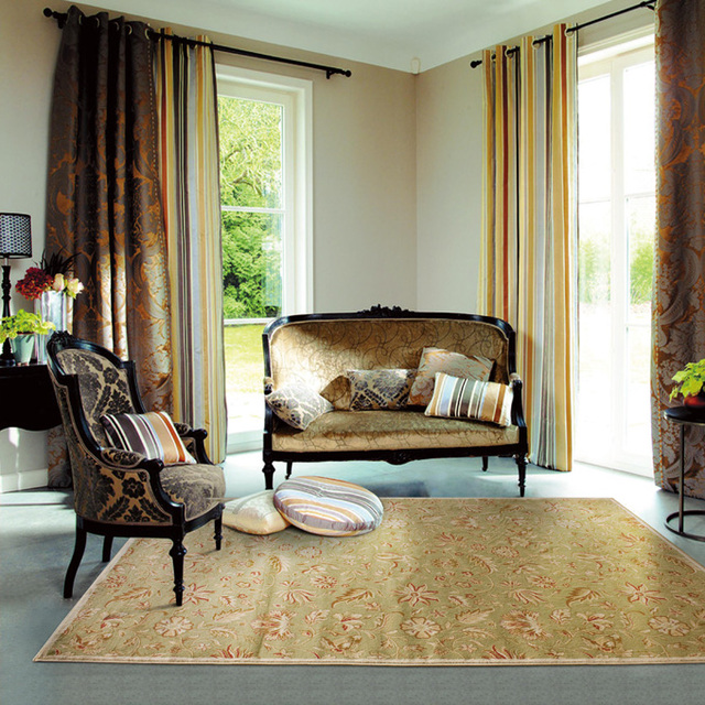 Living Room Suites For Sale: Vintage Floral Area Rugs Rustic American Country Hotel