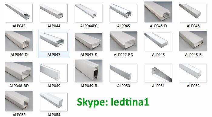 Aluminum Led Corner Strip Light Linear Profile Milky Cover