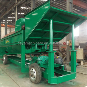 rotary trommel sieve for sand gravel soil clay screening
