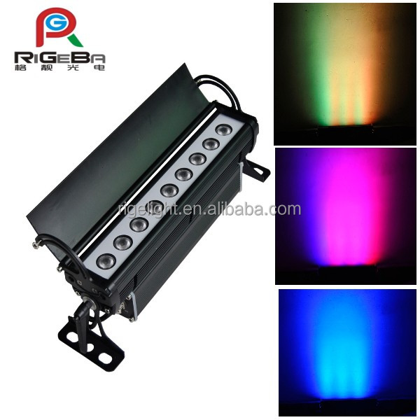 Waterproof RGB 3IN1 led wall washers outdoor led wall wash up light
