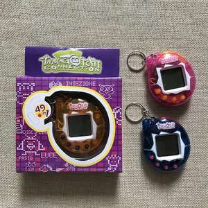 Tamagotchi Pet Virtual Toy Cyber 49 Pets Nostalgic One 90s Funny Hot Game