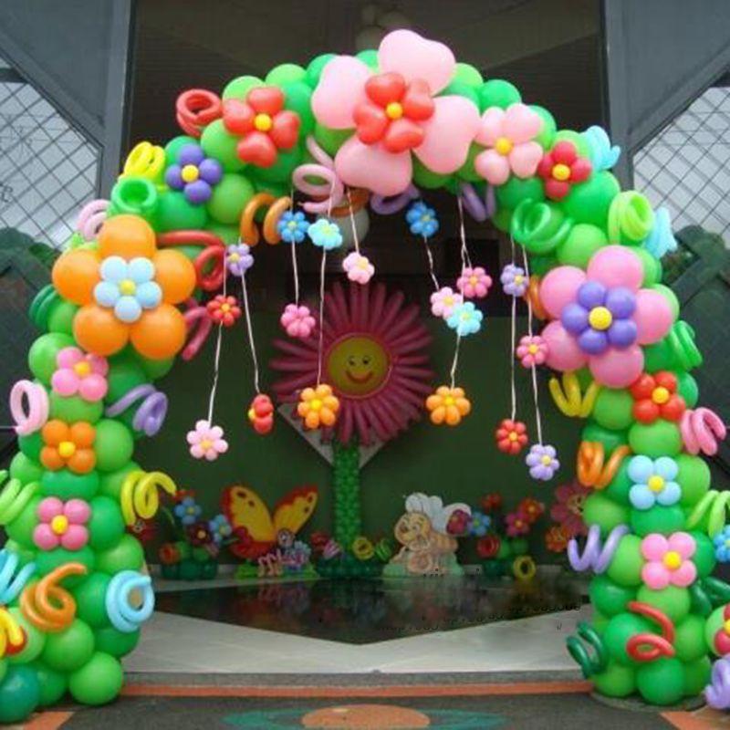 Birthday Balloon Decoration Arch ~ Image Inspiration of ...