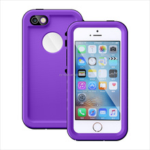 Factory sale retail package waterproof mobile phone case for iphone5, original source water proof cell phone case