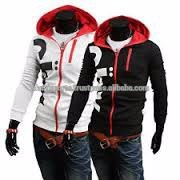 100% cotton Fleece zip up hoodies
