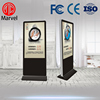 "42"" 55"" 84 inch indoor floor stand lcd digital signage player"