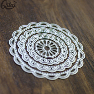 wholesale die cut set circle A metal craft cutting dies