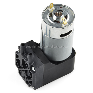 Customized Small Micro Mini 5v 6v 12v 24v High Pressure Electric Suction Vacuum Air Pump Motor For Auto Car Medical