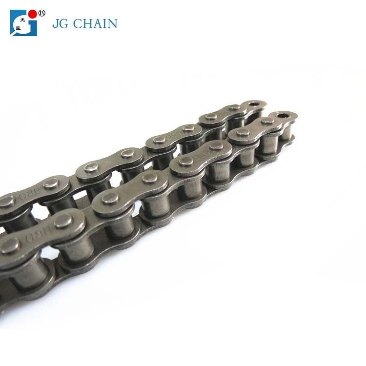 08b-1 trencher chain drive power transmission 08b series simplex  roller chain