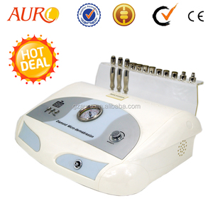 AURO Portable 9 tips Face cleansing Sucking Microdermabrasion Machine