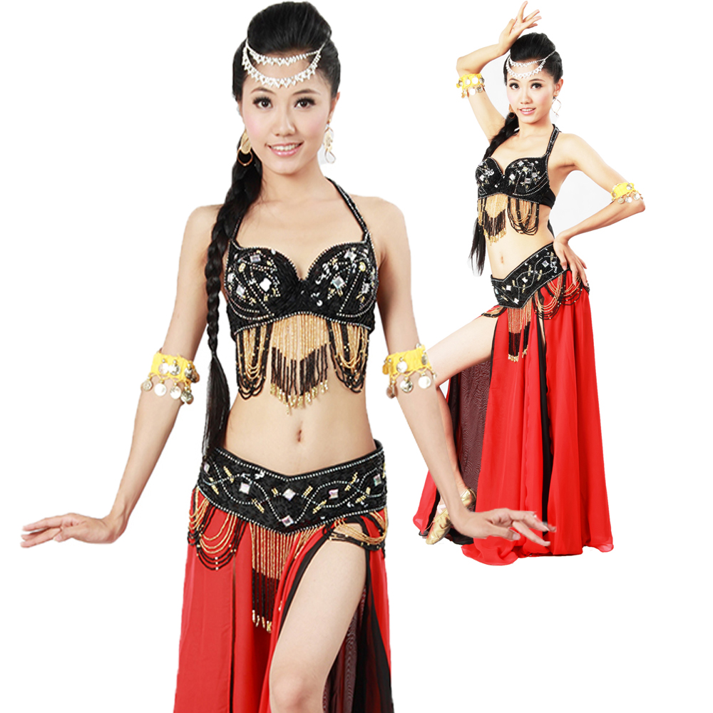 Hot Wholesale classical Sexy <strong>Belly</strong> <strong>Dance</strong> Performing <strong>Tribal</strong> outfit Style