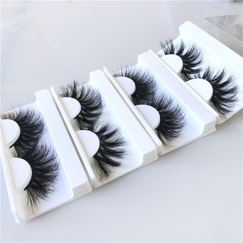 Private label 3d mink lashes vendor 25mm 3d mink eyelashes custom packaging, Natural black