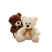 Wholesale customization cute teddy bear plush toys valentine gift 2019 soft stuffed animals toys and for kids children