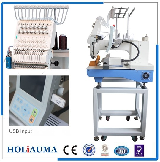 cheap commercial embroidery machine