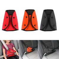 Free Shipping Car Safe Fit Seat Belt Sturdy Adjuster Car Safety Belt Adjust Device Triangle Baby Child Protection Baby Safety Pr