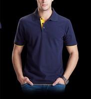 2017 High Quality Long Sleeves Shirt Custom Cotton Polo Shirt for Men