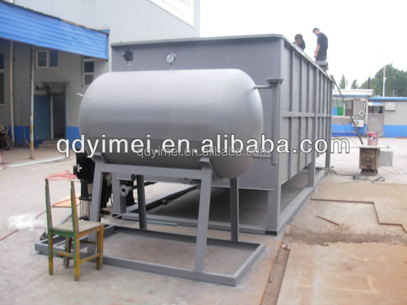 containerized DAF for chemical industry wastewater treatment plant