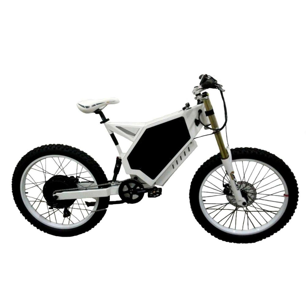 Fat Tire High Speed Enduro Fast Stealth Bomber Electric Bike 8000W 72V for Sale Turkey