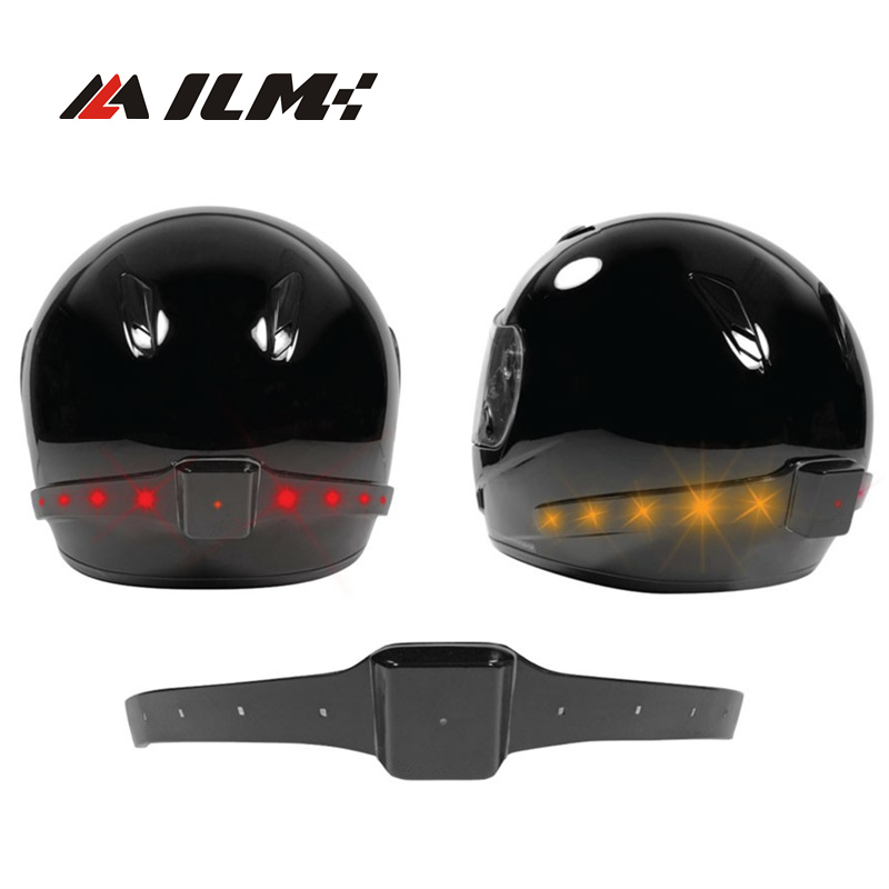 Wireless Motorcycle Motocross Atv Racing Helmet Led Safety