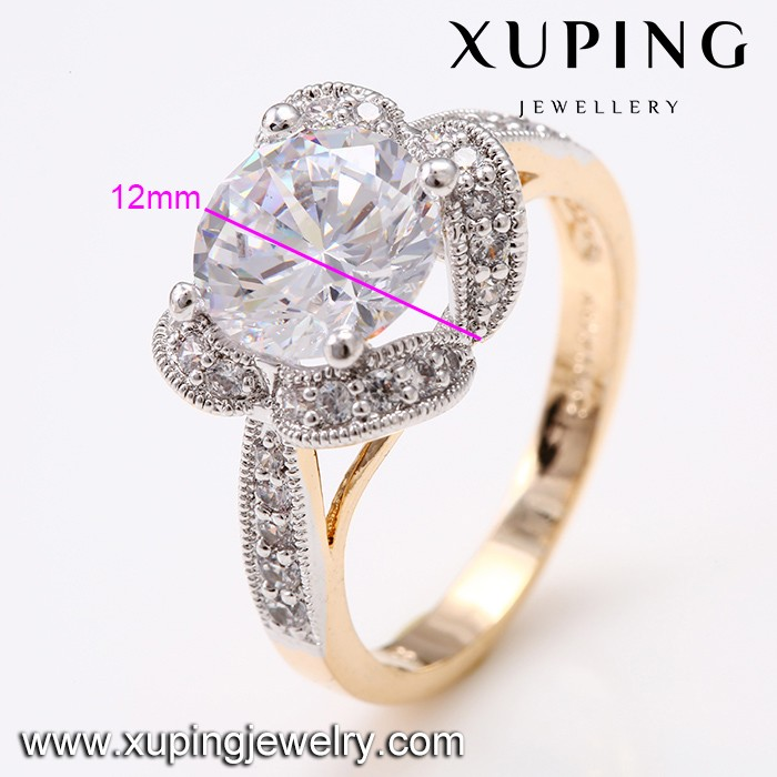 New Coming Products fancy Valentine's Day Flat Stone Engagement Ring