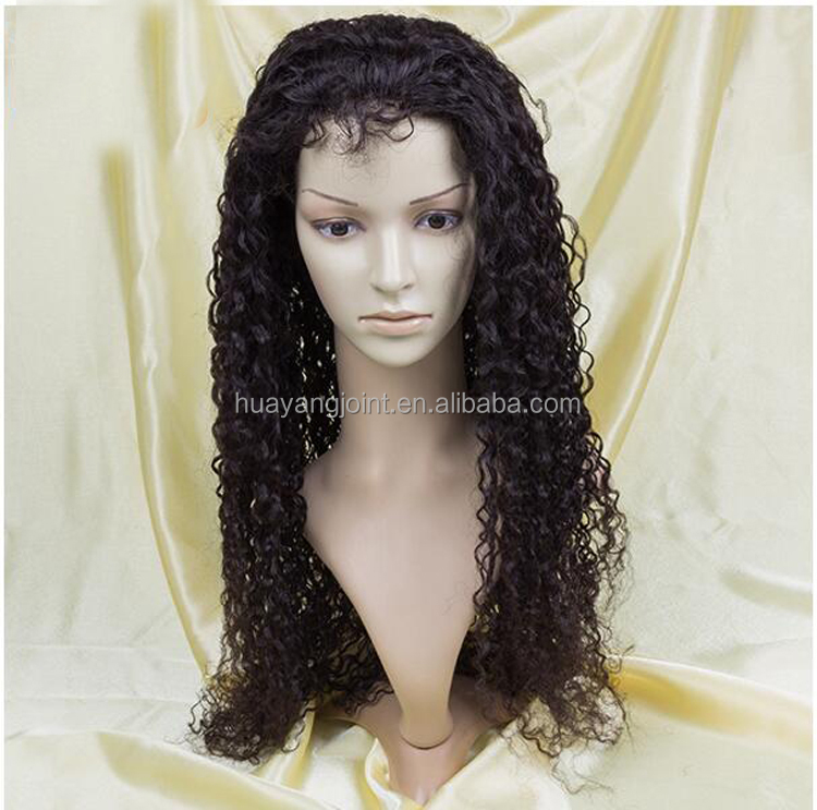 2016 New Design High Quality Thin Skin PU Around Injection Virgin Brazilian Human Hair Silk Base Full Lace Wig with Baby Hair