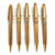 JD-MB2 Custom logo Boligrafos Bamboo ball pen manufacturer bamboo pen