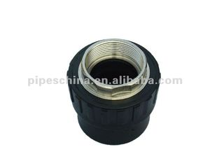 pipe fitting HDPE female/male coupler