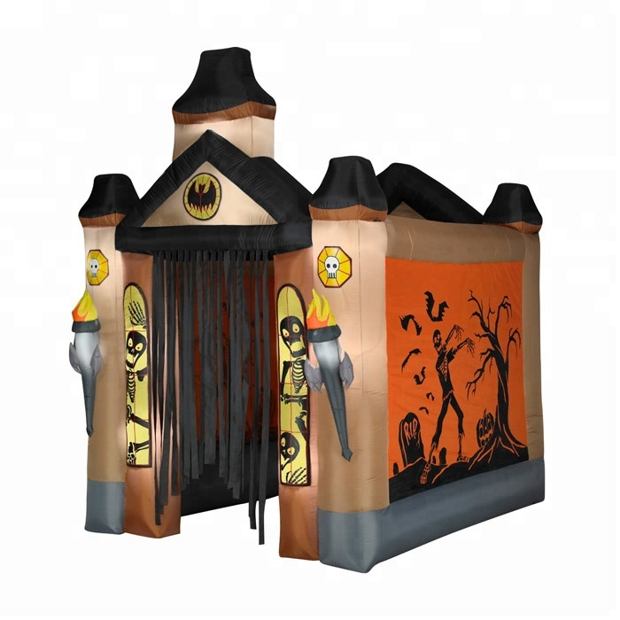 Supplier of halloween <strong>inflatable</strong> haunted house outdoor decoration
