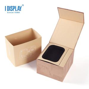 Customized Perfect Foam Insert Box Packaging, Book Shaped Gift Box With Magnetic/