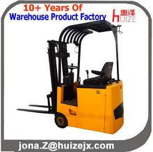 Hot Sale 1.5 Ton Three Wheel Electric Forklift with AC Motor